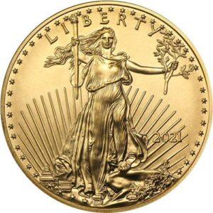 amerykański orzeł nowy wizerunek złoto