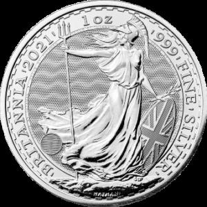 Britannia 1 uncja srebra 2021 1 oz