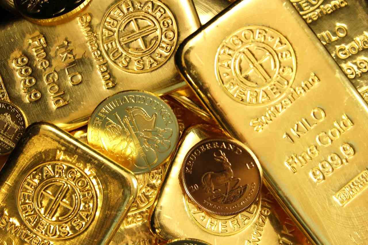 Metale szlachetne złoto i srebro