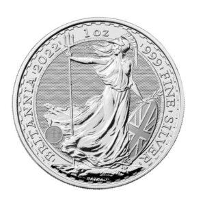 Britannia srebrna moneta 1 uncja 2022
