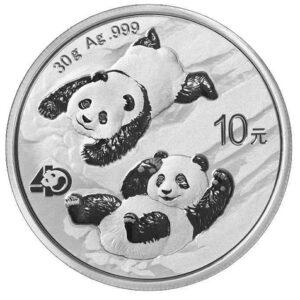 Chińska Panda 2022 30 g srebra