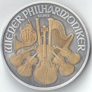Wiedeński Filharmonik Antique gold 2021